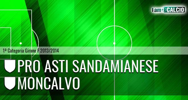 Pro Asti Sandamianese - Moncalvo