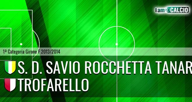 S. D. Savio Rocchetta Tanaro - Trofarello