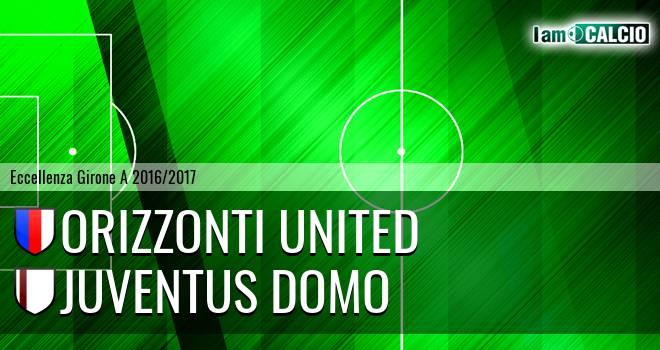 Orizzonti United - Juventus Domo