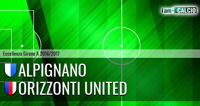 Alpignano - Orizzonti United