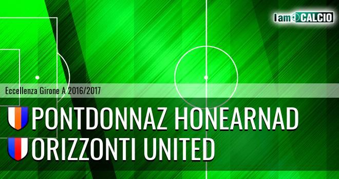 PontDonnaz HoneArnad - Orizzonti United