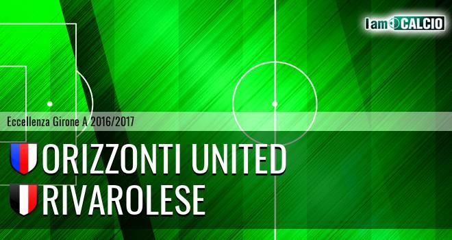 Orizzonti United - Rivarolese