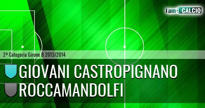 Giovani Castropignano - Roccamandolfi