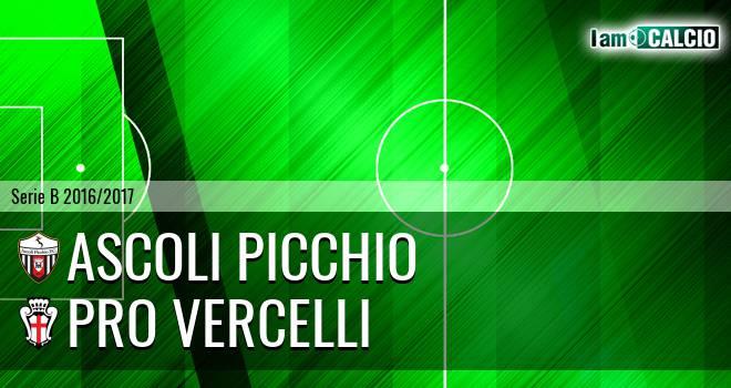 Ascoli - Pro Vercelli