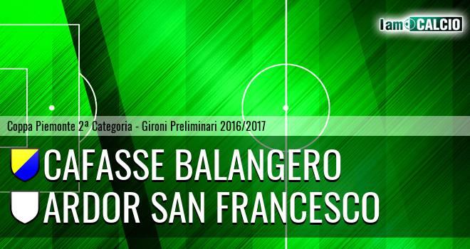 Cafasse Balangero - Ardor San Francesco