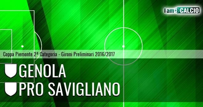 Genola - Pro Savigliano