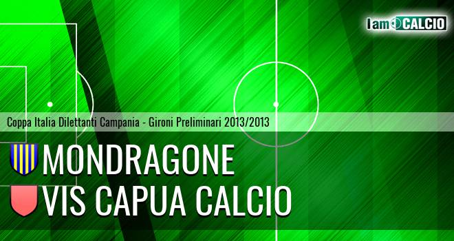 Mondragone - Vis Capua Calcio