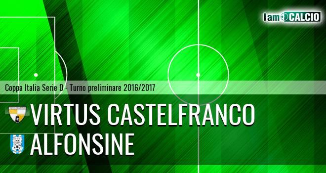 Virtus Castelfranco - Alfonsine