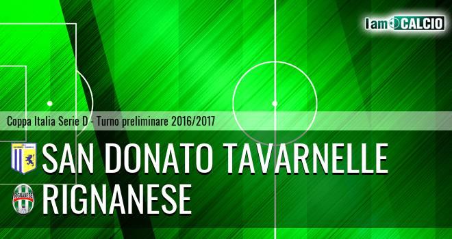 San Donato Tavarnelle - Rignanese