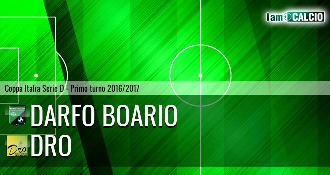 Darfo Boario - Dro Alto Garda