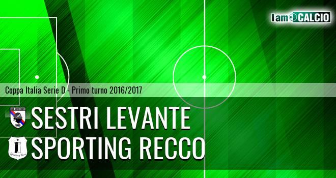 Sestri Levante - Sporting Recco