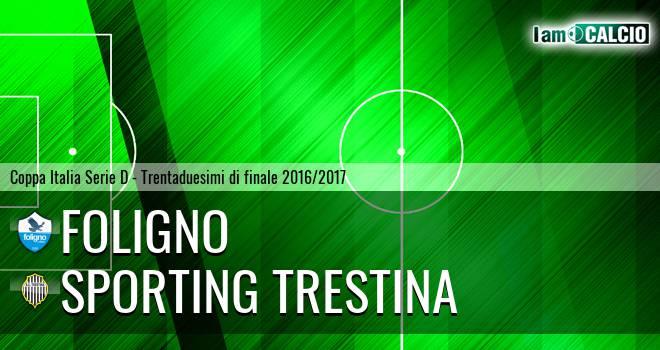 Foligno - Sporting Trestina