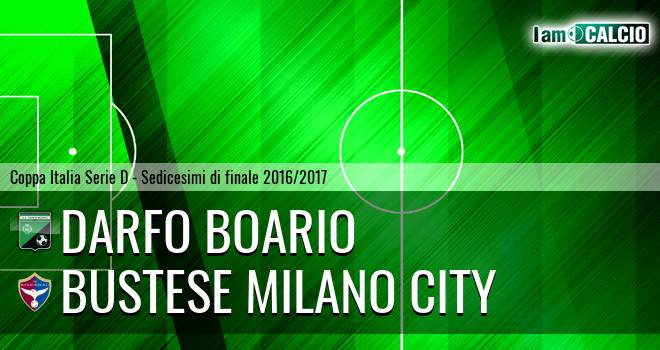 Darfo Boario - Milano City