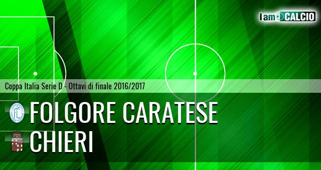 Folgore Caratese - Chieri