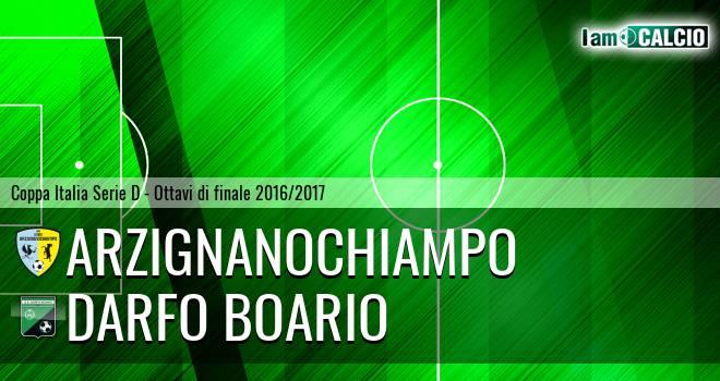 Arzignano Valchiampo - Darfo Boario