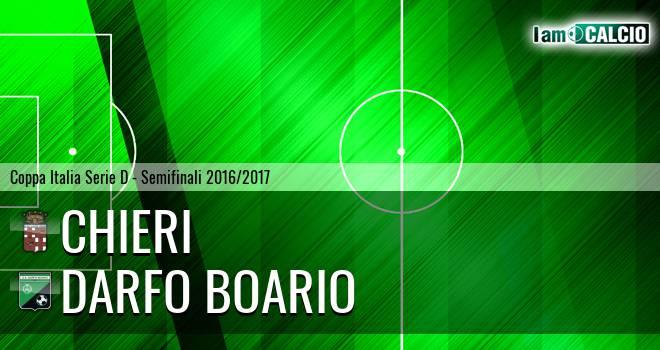 Chieri - Darfo Boario