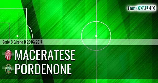 Maceratese - Pordenone