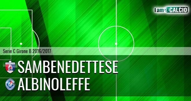 Sambenedettese - Albinoleffe