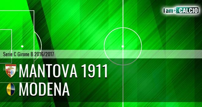 Mantova 1911 - Modena