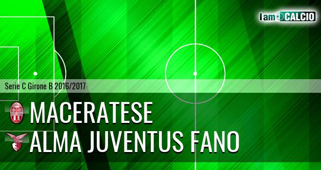 Maceratese - Alma Juventus Fano