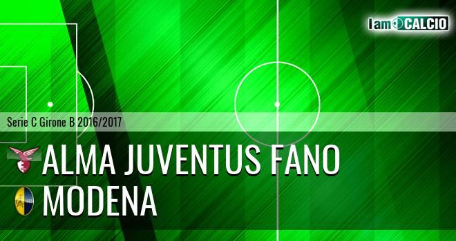 Alma Juventus Fano - Modena