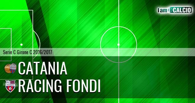 Catania - Racing Fondi