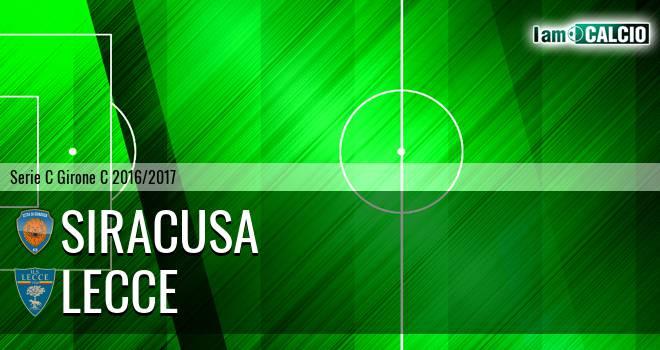 Siracusa - Lecce