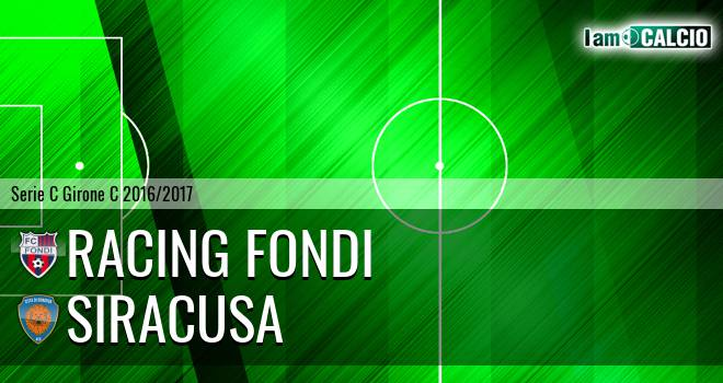 Racing Fondi - Siracusa