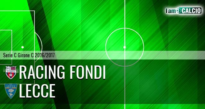 Racing Fondi - Lecce