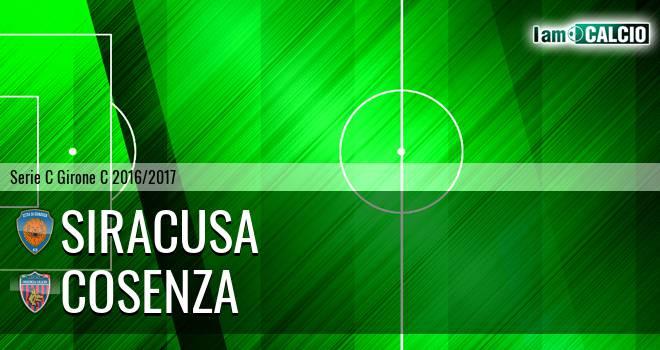 Siracusa - Cosenza