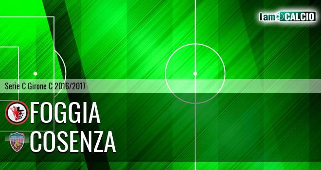Foggia - Cosenza