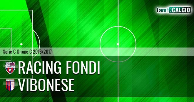 Racing Fondi - Vibonese