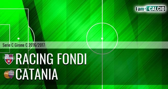 Racing Fondi - Catania