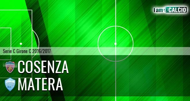 Cosenza - Matera