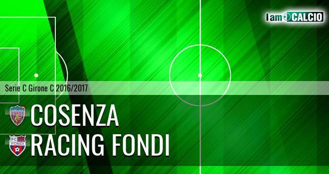 Cosenza - Racing Fondi