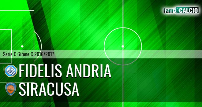 Fidelis Andria - Siracusa