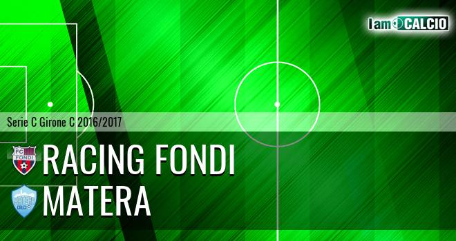 Racing Fondi - Matera