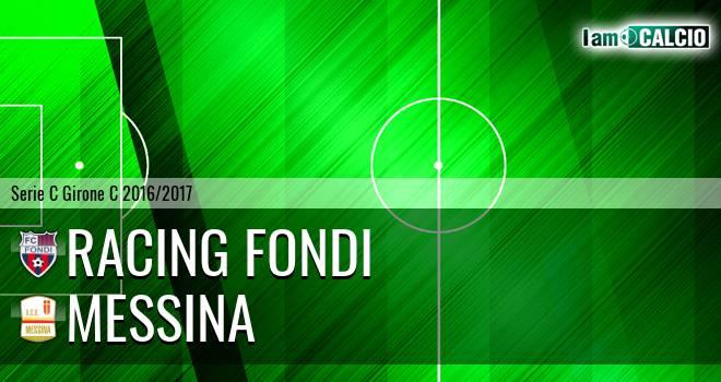 Racing Fondi - ACR Messina