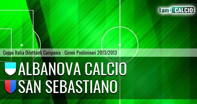 Albanova Calcio - San Sebastiano