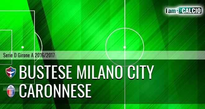 Bustese Milano City - Caronnese