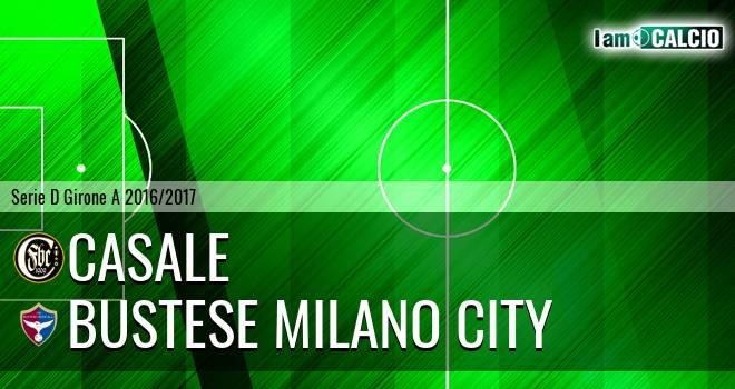 Casale - Bustese Milano City