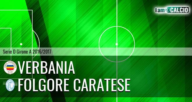 Verbania - Folgore Caratese