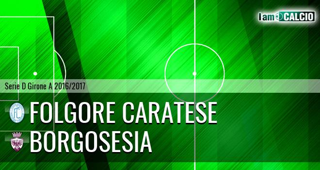 Folgore Caratese - Borgosesia