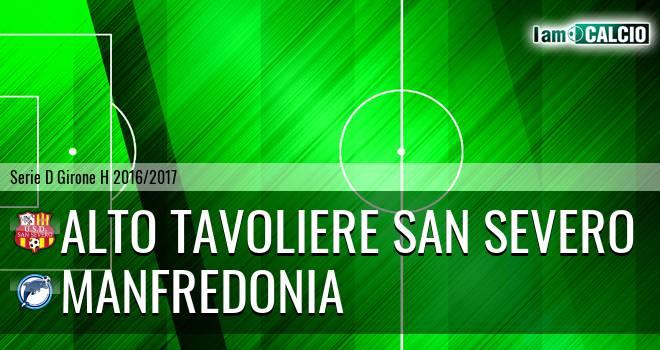 Alto Tavoliere San Severo - Manfredonia Calcio 1932