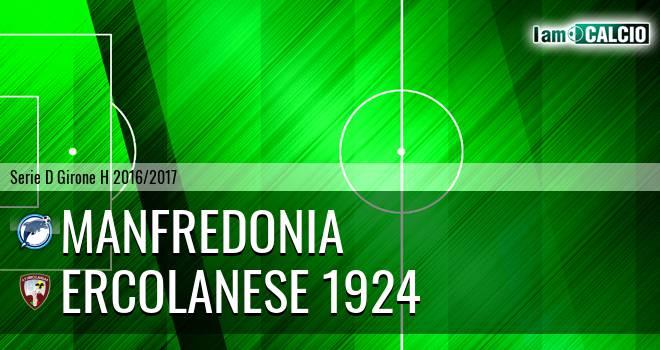 Manfredonia Calcio 1932 - Sporting Ercolano