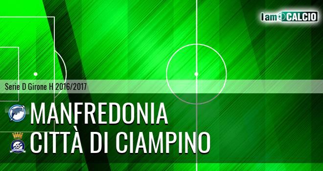 Manfredonia Calcio 1932 - Città di Ciampino