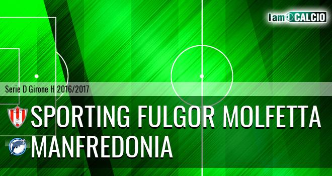 Sporting Fulgor Molfetta - Manfredonia Calcio 1932