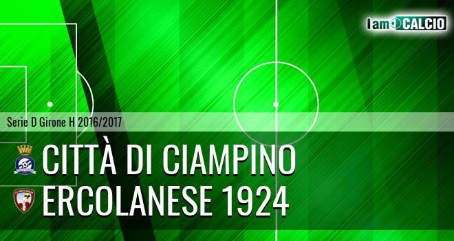 Città di Ciampino - Sporting Ercolano