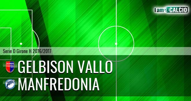 Gelbison Vallo Della Lucania - Manfredonia Calcio 1932