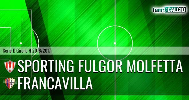 Sporting Fulgor Molfetta - Francavilla
